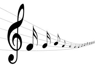 voce fuori campo musica