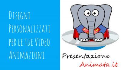 Disegni Personalizzati per le tue VIdeo Animazioni - Disegni Personalizzati per le tue Video Animazioni