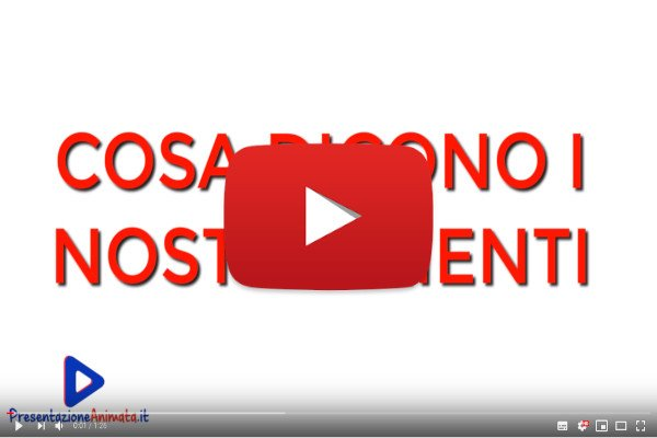 Testimonianze Demo Video - I Nostri Video Animati