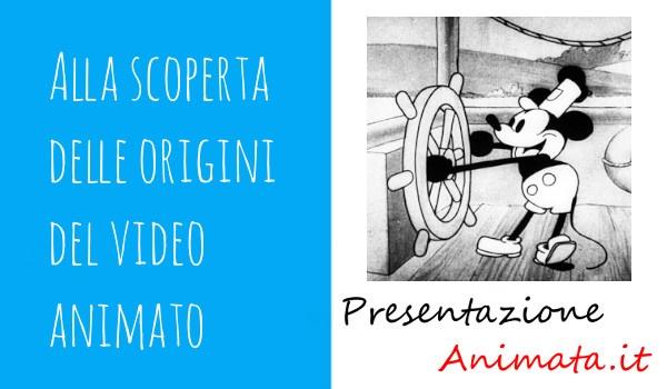 Alla scoperta delle origini del video animato - Alla scoperta delle origini del video animato