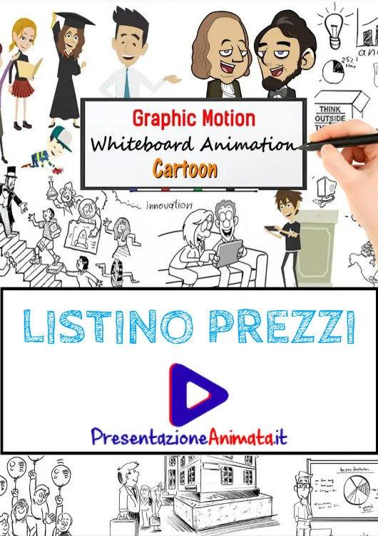Listino Prezzi Video Animazioni Professionali - Presentazione animata home