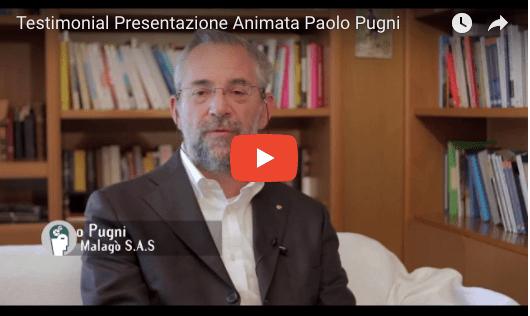 Testimonianza Paolo Pugni Video Animazioni - Presentazione animata home