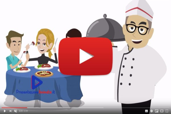 Video Whiteboard per promuovere un social business network per ristoratori - I Nostri Video Animati