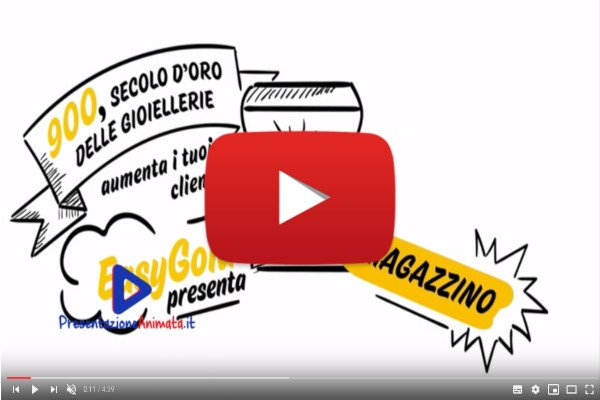 Whiteboard Gold per promuovere un software per gioiellerie - I Nostri Video Animati